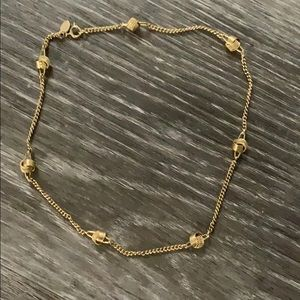 Avon ball knot necklace